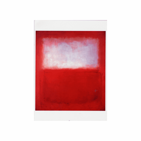 <i>White over Red</i> Holiday Cards