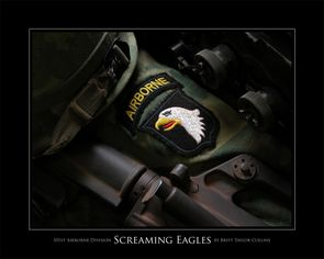 101st Airborne Division - Screaming Eagles - Giclee Print2