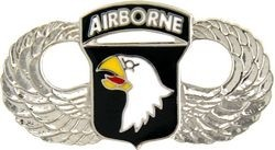101st Airborne Wings Lapel Pin