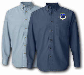 106th Rescue Wing Denim Shirt