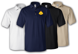 108th Training Division Unit Crest Polo Shirt
