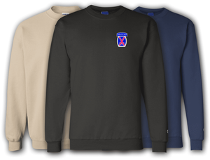 10th Infantry Mountain Division Sweatshirt