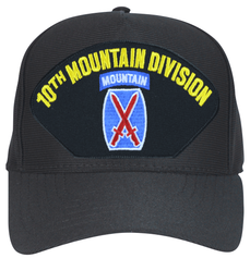 10th Mountain Division with Patch Ball Cap