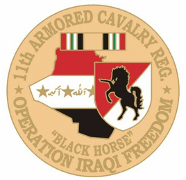 11th Armored Cavalry 1 1/8