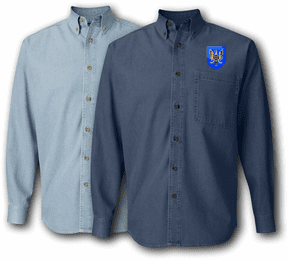11th Aviation Brigade Denim Shirt