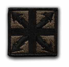 """142ND SIGNAL BRIGADE SUBDUED 2"""" MILITARY PATCH"""
