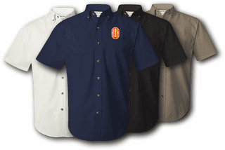 147th Field Artillery Brigade Twill Button Down Shirt