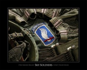 173rd Airborne Brigade - Sky Soldiers - Giclee