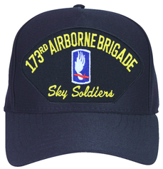 173rd Airborne Brigade 'Sky Soldiers' with Patch Ball Cap