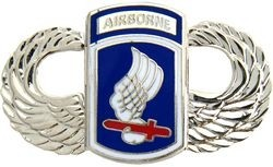 173rd Airborne Wings Lapel Pin