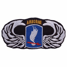 173rd Airborne with Wings 4 1/2