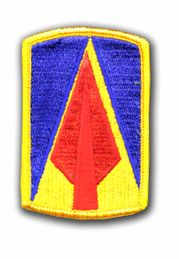 """177TH ARMORED BRIGADE 3"""" MILITARY PATCH"""