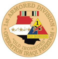 1st Armored Division 1 1/8