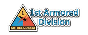 1st Armored Division Bumper Sticker