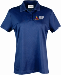 1st Armored Division United States Army Authentically American Women's Moisture Polo