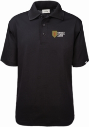 1st Infantry Division United States Army Authentically American Mens Moisture Wicking Polo