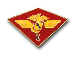 1st MARINE AIRWING MILITARY LAPEL PIN