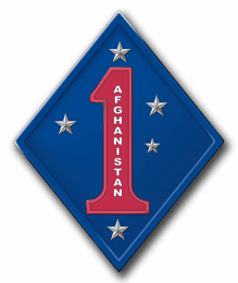 1st Marines Afghanistan Sticker Decal