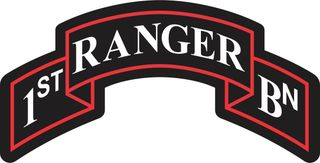 1st Ranger Battalion Decal