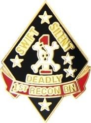 1ST RECON BATTALION LAPEL PIN