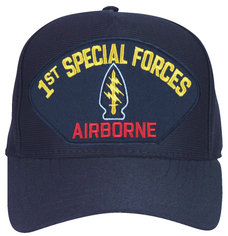 1st Special Forces Airborne Custom Embroidered Military Cap