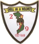 2/9 Hell in a Helmet Lapel Pin