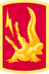 227th Field Artillery Brigade Patch Vinyl Transfer Decal