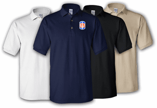 228th Signal Brigade Polo Shirt