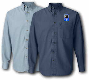 244th Aviation Brigade Denim Shirt
