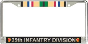 25th Infantry Division Gulf War License Plate Frame