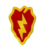 U.S. Army 25th Infantry Division Lapel Pin (5/8 inch)