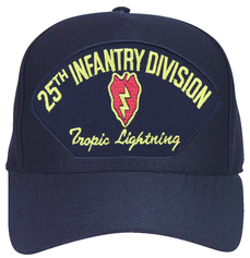 25th Infantry Division 'Tropic Lightning' with Patch Ball Cap