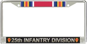 25th Infantry Division World War Two License Plate Frame