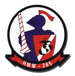 2nd Marine Division Marine Medium Tiltrotor Helicopter Squadron 365 Sticker