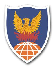 311th Signal Command Patch Vinyl Transfer Decal