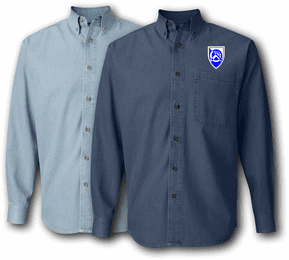 360th Civil Affairs Brigade Denim Shirt