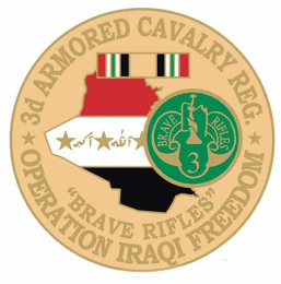 3rd Armored Cavalry Regiment 1 1/8