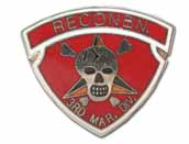3RD DIVISION RECON LAPEL PIN