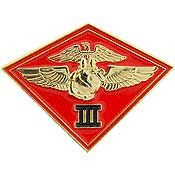 3rd MARINE AIRWING MILITARY LAPEL PIN