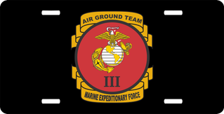 3rd Marine Expeditionary Force License Plate