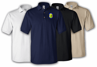 404th Chemical Brigade Polo Shirt