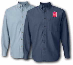 420th Engineer Brigade Denim Shirt