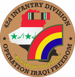 42nd Infantry Division OIF Decal
