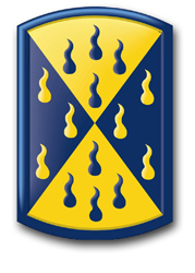 464th Chemical Brigade Patch Vinyl Transfer Decal