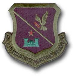 "5th FIELD INVESTIGATIONS REGION 3"" MILITARY PATCH"