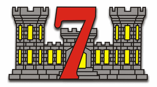 7th Engineer Support Battalion Sticker Decal