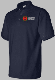 7th Infantry Division Afghanistan Veteran Polo