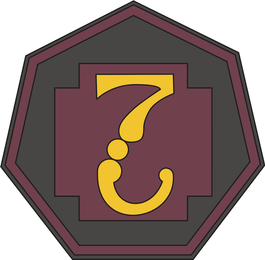 7th Medical Command Decal