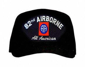 82nd Airborne 'All American' with Patch Ball Cap