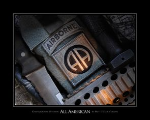 82nd Airborne Div. - All American- Lens Print